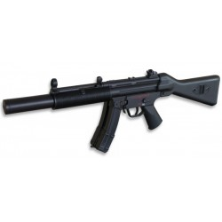 Fusil eléctrico tipo MP5 SD6 de WELL