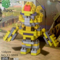 Coche-Robot X-BLOCK 4mm