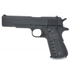 Pistola Gas 1911 Blow Back Golden Eagle color negro