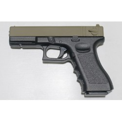 Pistola de muelle G18 Corredera Golden Eagle color marrón claro