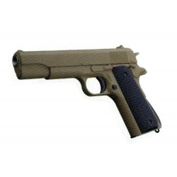 Pistola de muelle 1911 A1 Golden Eagle color marrón claro