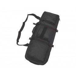 "Bolsa de nailon 33"" Dual para rifle negra Wisha"