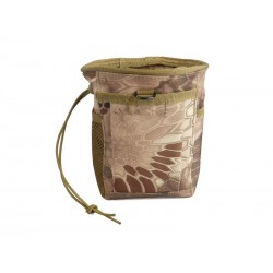 Bolsa de descarga NVG Tactical camuflaje marrón Wisha