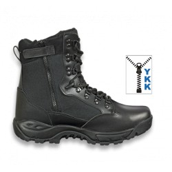 "Bota Barbaric FORCE "" SPARK"" ZIP Black. 8 pulg. Talla 38"