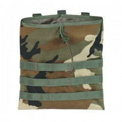 Bolsa descarga drop molle camo Wisha