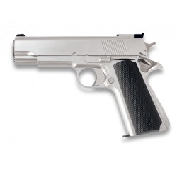 * PISTOLL BB BULLET GAS. Color: BLANCA. 6 MM. HFC