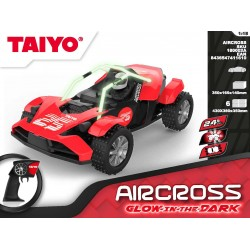 Coche RC Aircross 1:18 Glow in the Dark Series 2,4Ghz